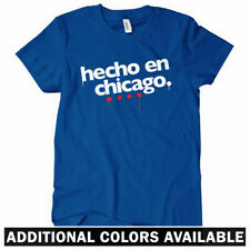 Hecho en Chicago Women's T-shirt - Chi-Town 773 Windy City Bears Cubs - S to 2XL
