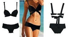 Sexy Women's Push-up Padded Underwire Bra Bikini Set Beach Swimwear Swimsuit