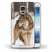 Hard Case for Samsung Galaxy S5 MINI Designer Fashion Bling Cover / Wildlife
