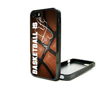 Apple iPhone 5 5S or 4G 4S 4 Fitted Case Skin Cover Cute Basketball Is LIfe NBA