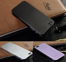Ultra Thin Brush Metal Aluminum Case Cover Back Schutz Hülle Für Iphone 4s/5s