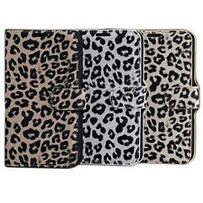 Leopard Print Pattern Leather Case Cover Protector For Samsung Galaxy Note 2 II