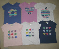 Mini Boden Applique T Shirt Top 2-12 years New with defects butterfly apple