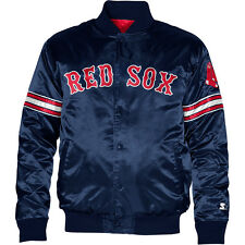 Starter Men's Boston Red Sox Team Color 2013 Satin Starter® Jacket