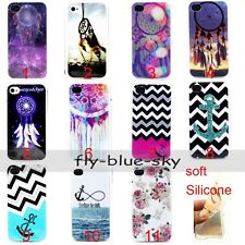 Dreamcatcher Anchor Soft TPU Silicone Back Case For iPhone MOTO 8190 9190 S5Mini