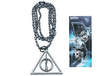 1Pc Hot Harry Potter Hogwarts Magic Deathly Hallows  Necklace Keychain