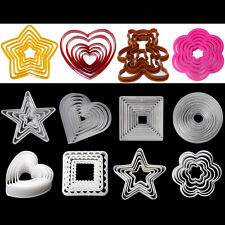 Various Style Fondant Cake Sugarcraft Decorating Cookie Mould Cutters Tools Set