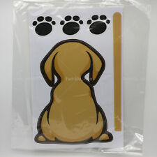Funny Sticker - Dog and Cat with a wagging tail / Fun Decals / Sticker for Car
