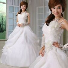 Cheap Strapless Sweetheart Ball Gown Wedding Dresses Bridal Dresses For Sale