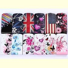 Genuine Leather Case Cover For Samsung Galaxy S Duos 2 S7582 Trend Plus S7580