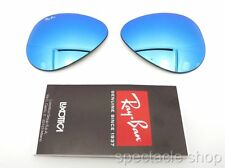 RAY BAN REPLACEMENT LENSES AVIATOR 3025 112/17 New Authentic Blue Mirror