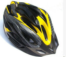 Carbon Fiber Street Mountain Bicycle Cycling 21 Holes Adjustable Helmet