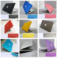 "for Macbook Pro 13"" 15"" AIR 11 13/Rubberized Hard Case +keyboard Cover 2010-2014"