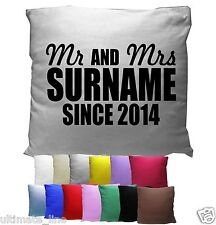 Personalised Pillow Case printed text 49cmx74cm Custom made cover - All Colours