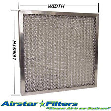"""1/2"""" Pleated / Washable Metal Mesh Filter - Custom Made to Your Specifications"""