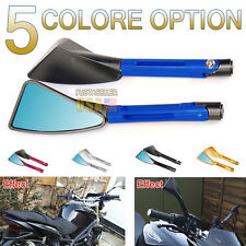 CNC Tomok Side Mirror Universal Rearview Aluminum Billet For Honda Suzuki Ducati