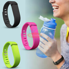 3PCS LARGE Size Replacement Wrist Band w/Clasp for Fitbit Flex Bracelet New
