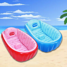 Baby Infant Toddler Travel Inflatable Bath Tub Bathing Eco-friendly Safety