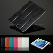 Luxury Leather Smart Case Cover for iPad Air + Screen Shield + Stylus