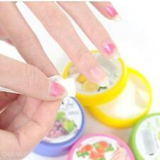 Lot 32Pcs Flavor Wet Wipes Paper Towel Nail Art Polish Rinse Remover Pads Piece