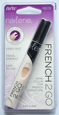 Nailene French 2 Go Pen Base Colour Nail Polish French Manicure Fast Dry