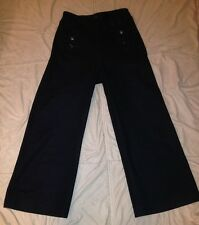 VINTAGE 1972 VIETNAM CRACKER JACK US NAVY BELL BOTTOM PANTS 13 BUTTON DRESS BLUE