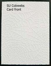 EMBOSSED HOLIDAY STAMPIN' UP CARDSTOCK CARD FRONTS, BUY 5 SETS GET 1 SET FREE