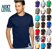 Next-Level 3600 Mens Fitted Short-Sleeve Crew T-Shirt XS-3XL