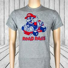 Road Rage T-Shirt | mario kart cart mens novelty tee cars car gear head geek