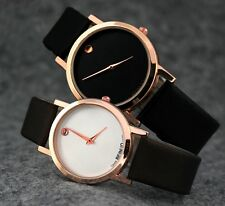 New Man Lady Fashion Leisure Sport Wristwatch Leather Strap Casual Watches