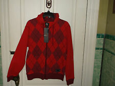 MENS LONG SLEEVE FLEECE SOUTHPOLE HOODIE SIZE S,NEW WITH TAGS