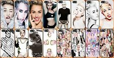 New for iPhone 5/5S hard case cover cute miley cyrus-add message if you need 5c