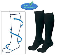 Varicose Vein Stocking Running Travel Knee High Relief Support Compression Socks