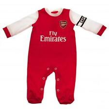 Arsenal FC Babygrow  New Kit Design Sleepsuit all sizes  Onsie 100% Official
