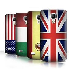 Case Hard Back Cover for Samsung Galaxy S3 S4 S5 + Mini / Printed Flag Design