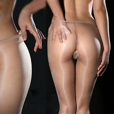 DY Sexy Hot Women Shiny Glossy Stocking Pantyhose Tights Black White Flesh Color