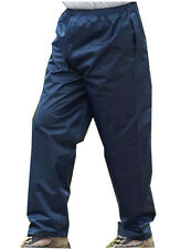 Mens Champion Blue Waterproof Windproof Over Golf Fishing Trousers Sizes S-XXL