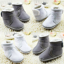 Baby boots boys girls Snow winter Soft bottom Shoes Suit for 3-6 6-9 9-12Months