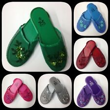 New women lady chinese mesh slippers