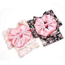 Small Dogs Clothes Pet Floral Bow Dress Puppy Cat Japanese Kimono Costume XS-XL