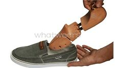 Chic Unisex Lotus Wood Shoe Tree Adjustable Stretcher Shaper MUK
