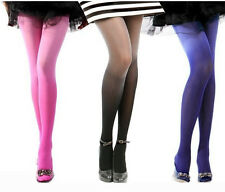 Gradient Sexy 30D Ombre Watercolor Velvet Tights Leggings Pantyhose Stockings