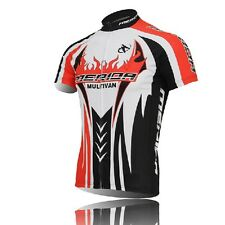 Outdoor Sport Cycling Jersey Bike Bicycle Clothing Short Sleeve Suit Jersey Top