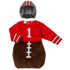 Koala Kids Boys' 2 Piece Brown/Red Football Player Halloween Costume with Faux H