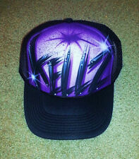 Airbrush Trucker Hat With Name, Airbrush Hat, Graffiti Hat, Trucker Hat