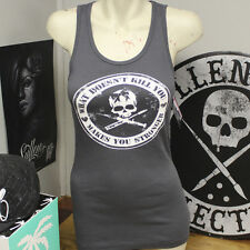 Beautiful Disaster Stronger Women's Charcoal Tank Top - L - Clearance Prices!