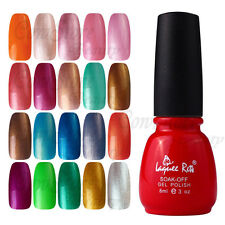 202 Colorful 8ml NG5 Nail Glitter Soak Off Top Primer Gel Polish UV Lamp 101-120