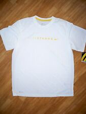 New with tag Nike Men's LIVESTRONG Legend Training  Shirt 481015-100 white