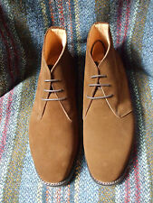 Sanders Holborn snuff suede Chukka boot, width fitting G