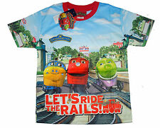 Chuggington Kids Girls Boys T shirt Size 6,8,10,12 age 2-10 #02 New Great Gift